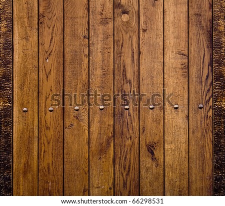 standard of brown dry wood - stock photo