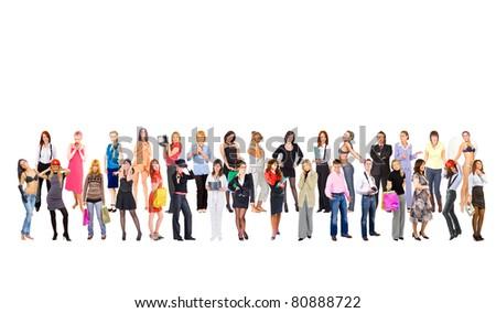 Standing Confidence Idea - stock photo