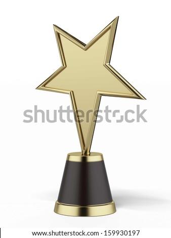 Star Award - stock photo