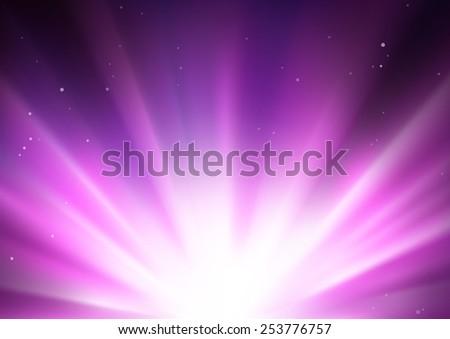 Star Burst - stock photo