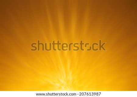 Star burst red and yellow fire - stock photo