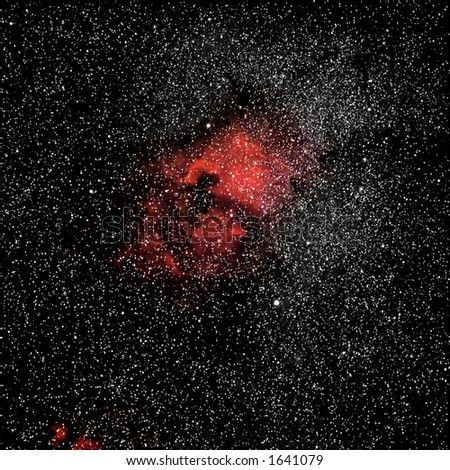 Star Cluster - stock photo