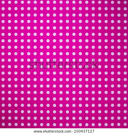 Star dot pattern in pink origami paper background. - stock photo