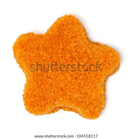 star shaped fish stick - stock photo