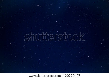 Star sky. - stock photo