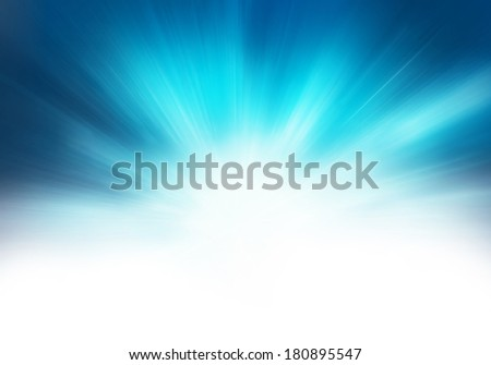 starburst blue abstract background  - stock photo