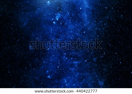 stars in the galaxy. Some elements of this image furnished by NASA - stock photo