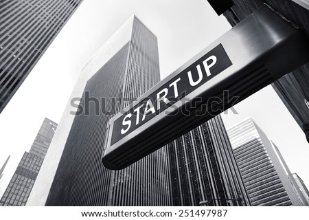 start up - stock photo
