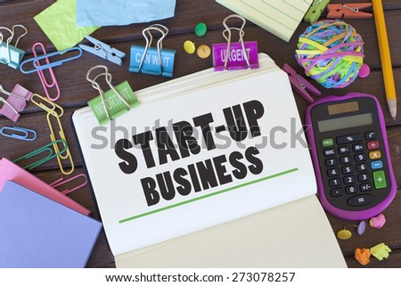 Start Up Business - stock photo