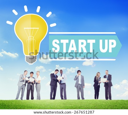 Start Up Business Concept - stock photo