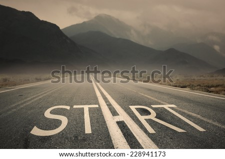 Start Your Life - stock photo