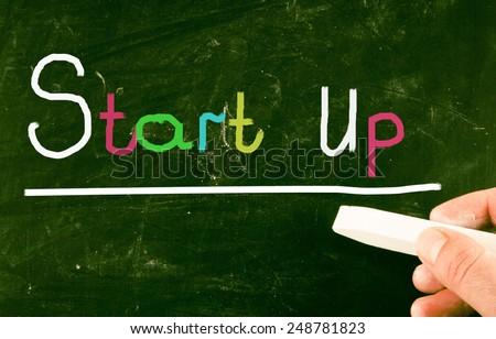startup concept - stock photo