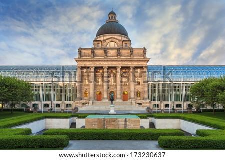 State building, Munich, Germany - stock photo
