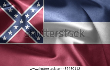 State of Mississippi - stock photo