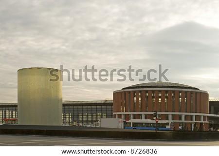 Station Atocha Madrid - stock photo