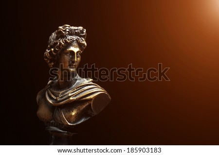 Statue of Alexander The Great  - stock photo