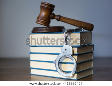 Statue of justice, Law concept  - stock photo