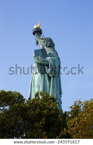 Statue of Liberty, New York City - stock photo