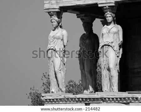 Statues - stock photo