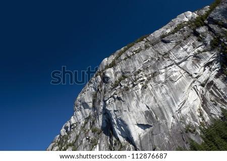 Stawamus Chief peak in Squamish, Canada - stock photo