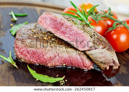 steaks - stock photo