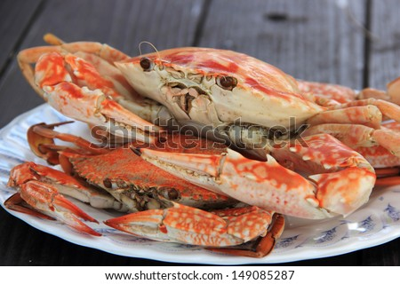Steam Dungeness crab , ready to eat!  - stock photo