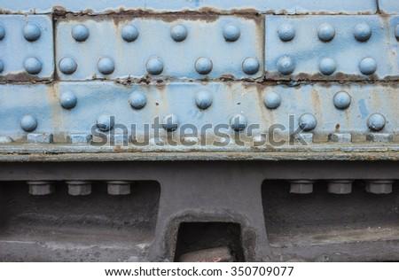steel construction - stock photo