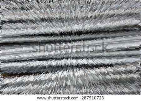 Steel rods or bars used to construction job - stock photo