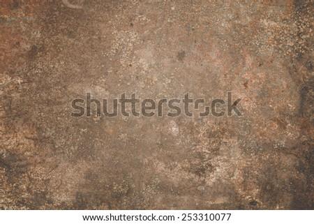 Rusting Steel Iron Iron Surface Rust Stock