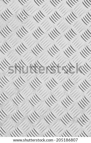 steel white floor - stock photo