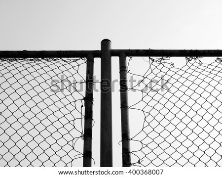 steel wire mesh / steel wire mesh that is used to produce a mesh manner. Take advantage of the security, the better. For example, used to make fence - stock photo