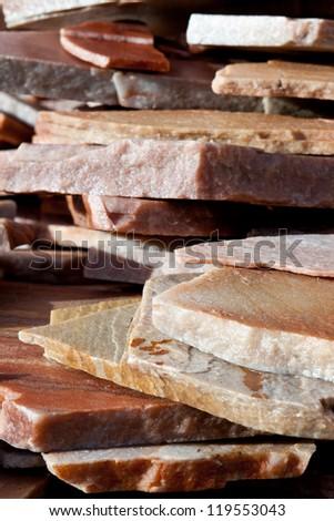 Steinplatten - stock photo