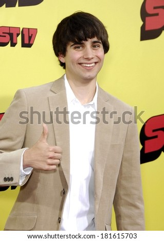 Stephen Borello at Premiere of SUPERBAD, Grauman's Chinese Theatre, Los Angeles, CA, August 13, 2007 - stock photo