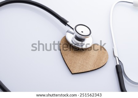 Stethoscop - stock photo