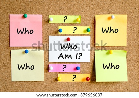 Sticky Note On Cork Board Background And conceptual text - stock photo