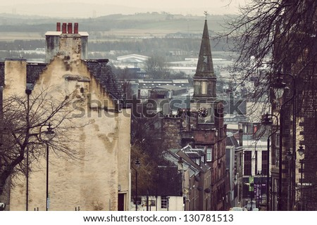 Stirling - stock photo