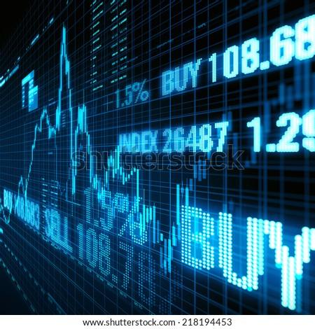 Stock Exchange - stock photo