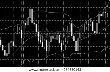 Stock exchange rates. Price movement. Stock profit graph for diagram. Electronic stock numbers. Stock share prices. Concept profit gain. Business stock exchange. Live online screen. Macro view. - stock photo