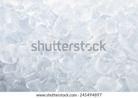 Stock image of ice cubes slowly melting - stock photo