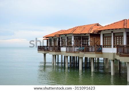 Stock image of Port Dickson, Malaysia  - stock photo