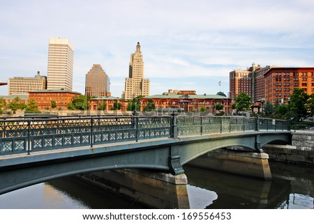 Stock image of Providence, Rhode Island, USA  - stock photo