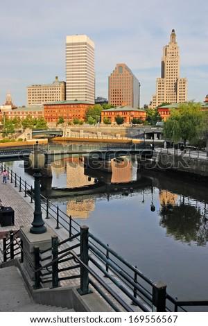 Stock image of Providence, Rhode Island, USA  - stock photo