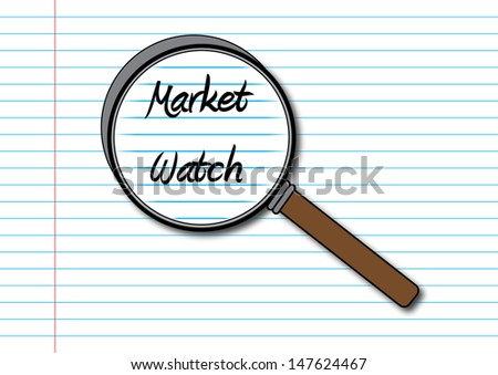 Stock Market Watch Concept - stock photo