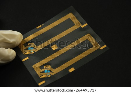 stock pictures of rfid tags used for tracking and identification purposes - stock photo