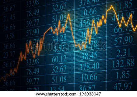 Stocks - stock photo