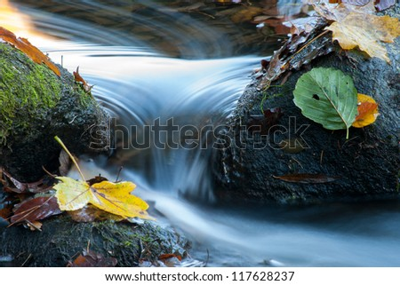 Stone and water - stock photo