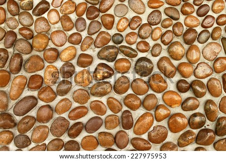Stone background brown color - stock photo