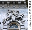 Stone family. Ancient building. Odessa, Ukraine. - stock photo