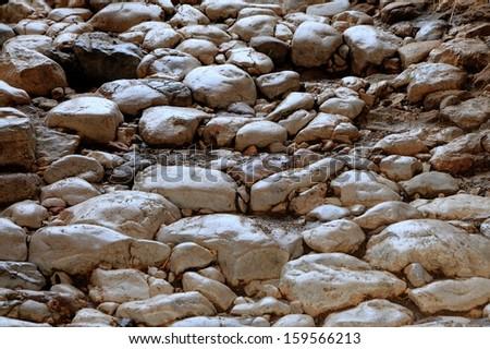 Stone Path - stock photo