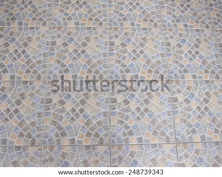 Stone  pavement texture background close up - stock photo